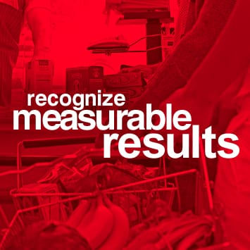 Recognize measurable results